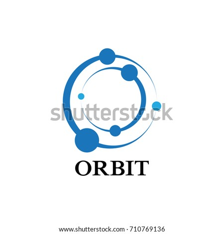 Atom structure logo vector icon illustration stock vector atom structure logo vector icon illustration ccuart Gallery