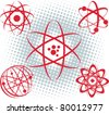 Atoms - stock vector