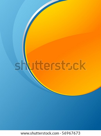 Attractive background with space for your message - stock vector