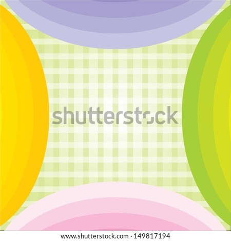 attractive Colourful abstract cloth texture background. eps-10 - stock vector