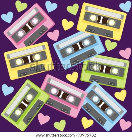 Audiocassette. This musical device - a symbol of the last century