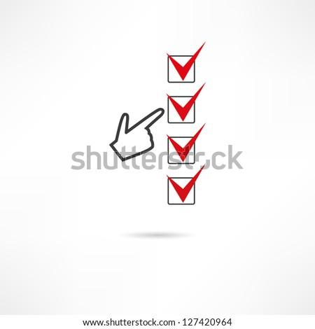 Audit icon - stock vector