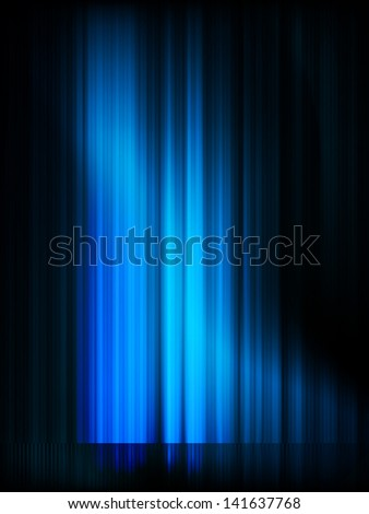 Aurora Borealis. Colorful abstract background. EPS 10 vector file included