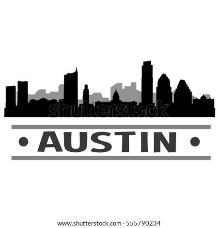 Raleigh Skyline Silhouette Stock Vector 559278397 ...