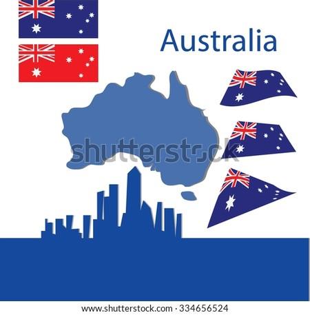 Australian - stock vector