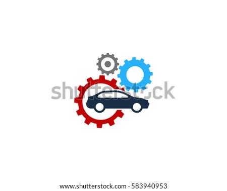 auto car repair logo design element stock vector 583940953 rh shutterstock com