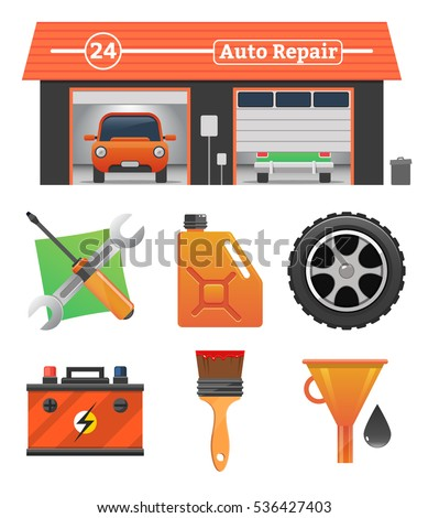 Motor oil stock photos royalty free images vectors for Garage concept auto