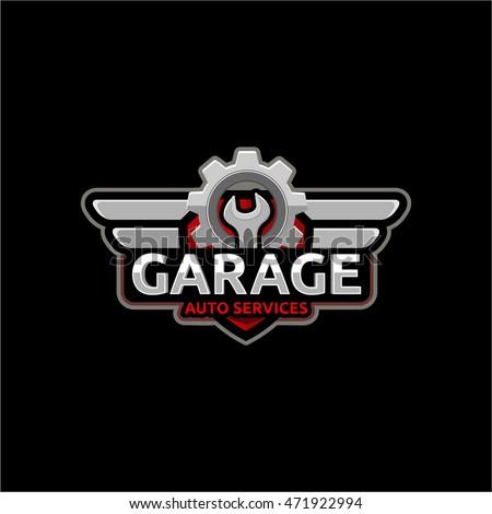 Garage logo design images galleries for Garage villeneuve auto service
