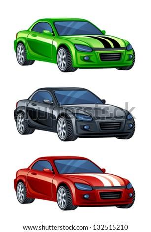 Automobile - stock vector