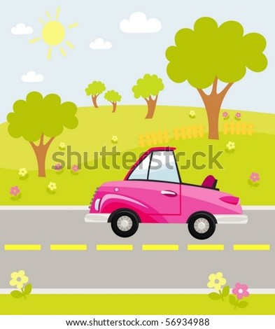 automobile - stock vector