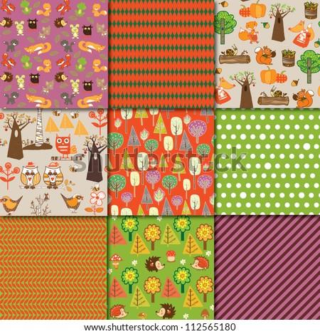 Autumn Collection - stock vector