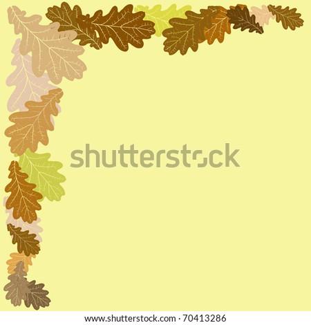 Autumn Leaves - stock vector