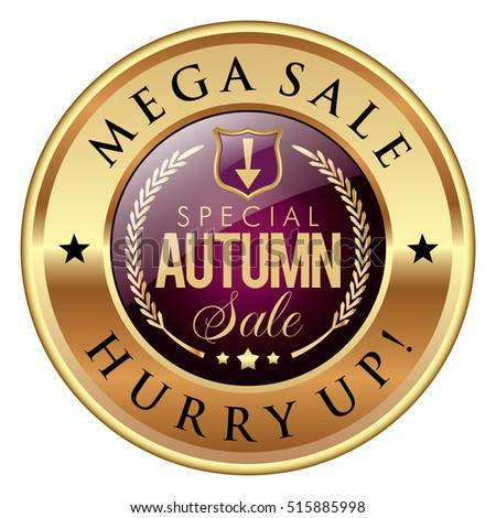 Autumn Sale badge