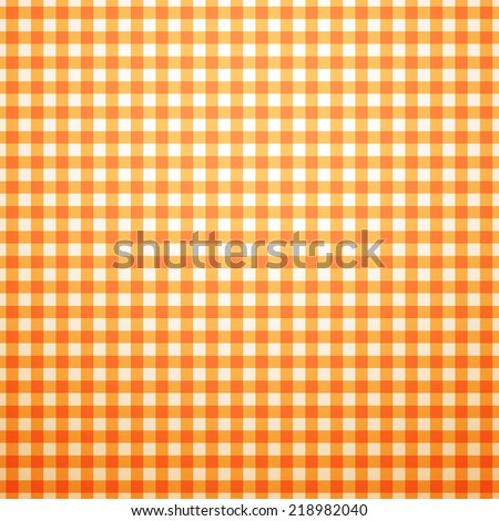 Autumn vector pattern with shadow. Endless texture for wallpaper, fill, web page background, texture. Halloween and thanksgiving geometric ornament. Orange and white colors - stock vector