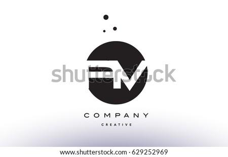 Av V Alphabet Company Letter Logo Stock Vector 629252969 Shutterstock