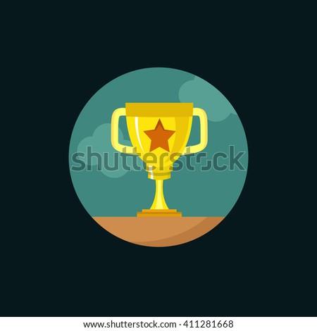 Award Icon. - stock vector