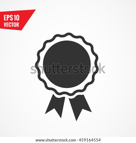Award icon - stock vector