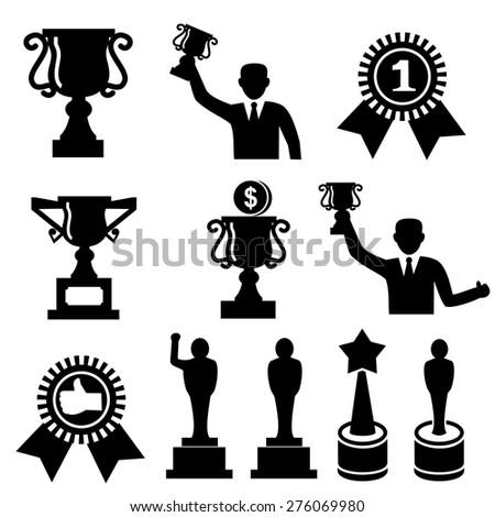 Award icon.vector - stock vector
