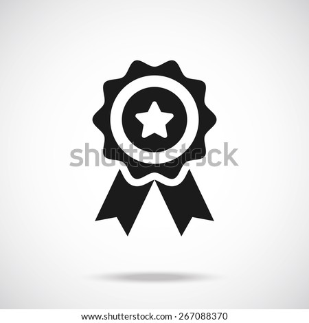 Award icon. Vector illustration - stock vector
