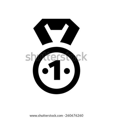 Award & medal icon - stock vector