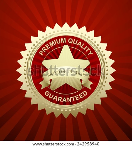 Award Star - Star Icon - EPS10 - stock vector