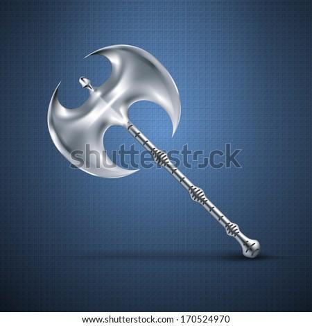 Axe tool - stock vector