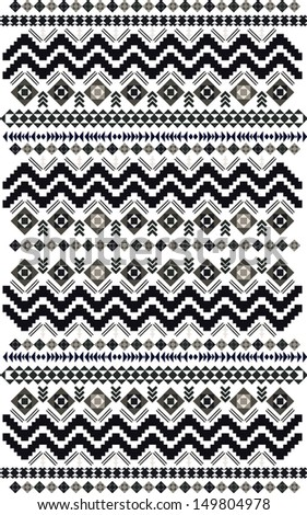 aztec design-vector-decorative - stock vector