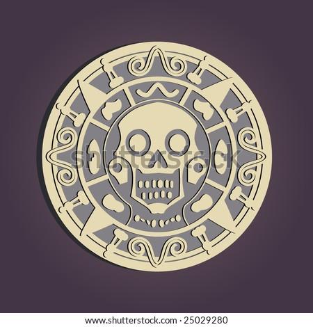 Aztec gold - stock vector