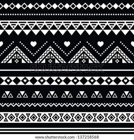 Cute Aztec Patterns Aztec Seamless Pattern Tribal