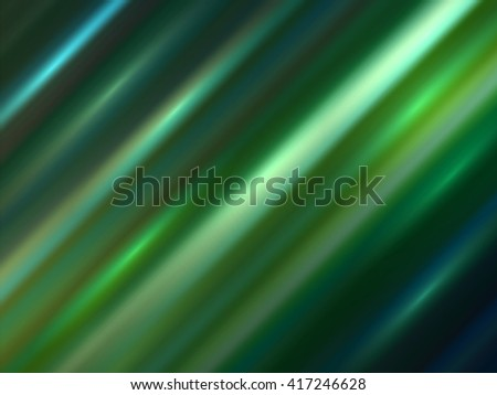 Azure lights. Vector background. Abstract dark blue and green illuminated spots. Diagonal illustration. Smooth striped texture. Blurred colorful background. Shiny wallpaper or backdrop design. - stock vector