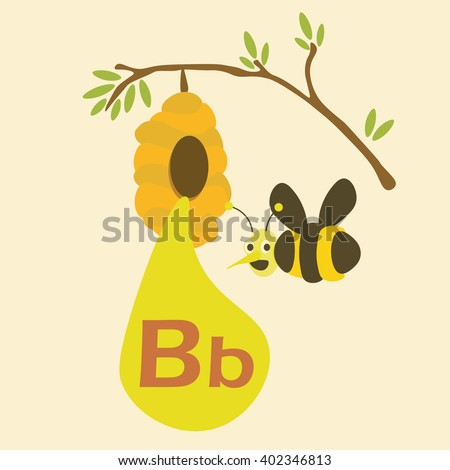 b for bee alphabet