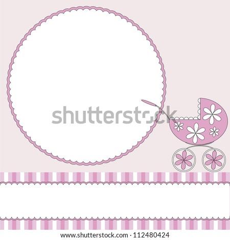 Babies  background - stock vector