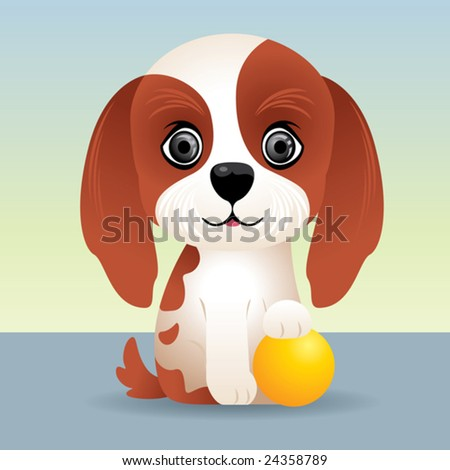 Baby Animal collection: Puppy Dog  More baby animals in my gallery. - stock vector