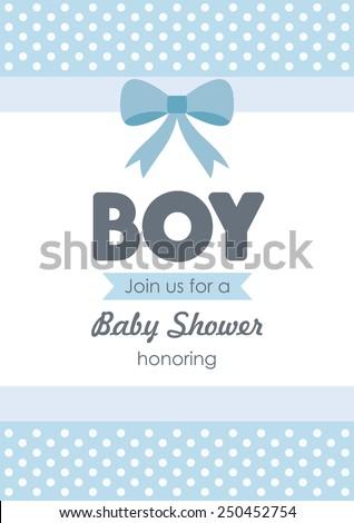 baby announcement card. vector illustration - stock vector