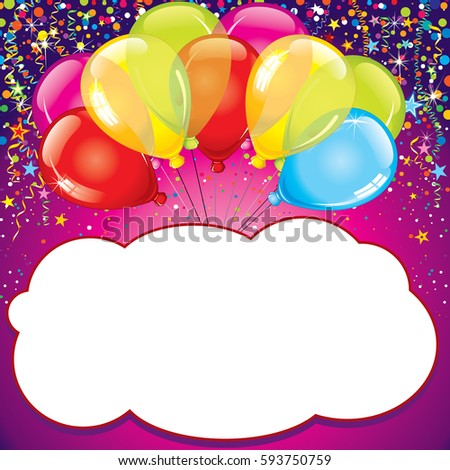 Baby Birthday Card Greeting Card Vector Stock Vector Royalty Free