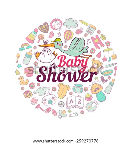 Baby Care - stock vector