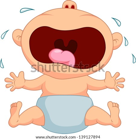 Crying Baby Stock Images, Royalty-Free Images & Vectors ... Baby Girl Crying Animation
