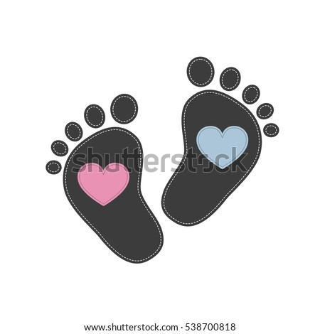 Baby footsteps
