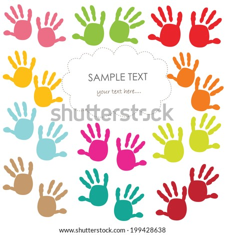 Baby Handprint Stock Images, Royalty-Free Images & Vectors ...