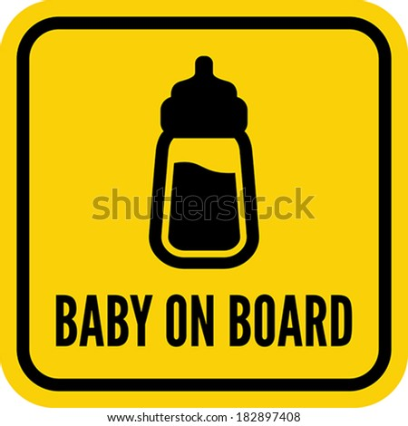 Baby on board stock photos images amp pictures shutterstock