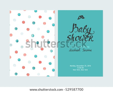 baby shower boy invitations vector templates stock vector 584234323 shutterstock. Black Bedroom Furniture Sets. Home Design Ideas