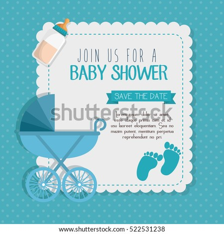 Baby Shower Invitation Stock Images RoyaltyFree Images  Vectors