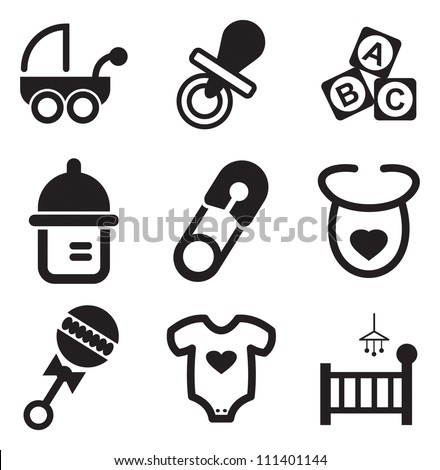 Baby Icon Stock Images, Royalty-Free Images & Vectors ...
