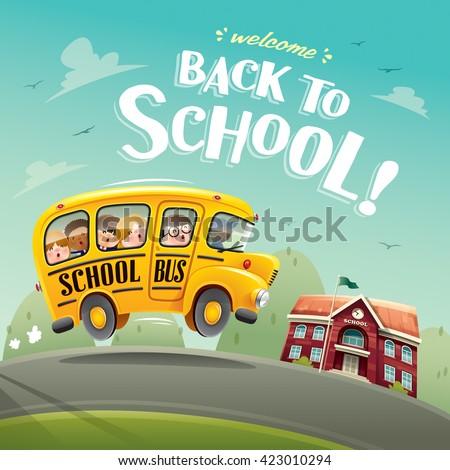 Back to School! - stock vector