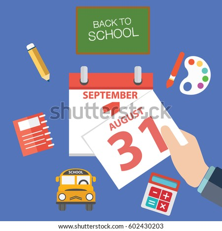 School Calendar Stock Images, Royalty-Free Images & Vectors