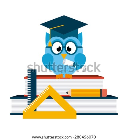 back to school design, vector illustration eps10 graphic  - stock vector