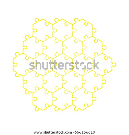 Backgriound hexahedron puzzle pattern hexagon puzzle stock vector backgriound hexahedron puzzle pattern hexagon puzzle piece wallpaper template banner presentation pronofoot35fo Choice Image