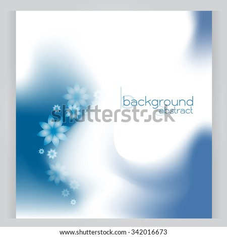 background abstract vector blue soft area Gradation texture flower