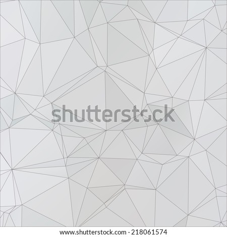 background abstract vector polygon - stock vector
