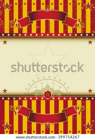 Background circus. A beautiful circus poster with a texture for your entertainment